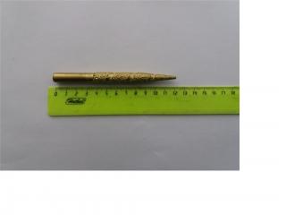 Фреза коническая по мрамору D3x10 L=120 с вакуумным напылением